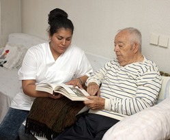 Ramer AL LPN with nursing home patient